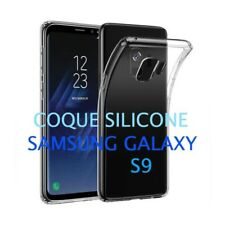 Coque Silicone Gel Transparente Souple Ultra Fine Samsung Galaxy S9