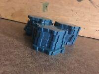 Heroscape Water Tiles Blue Single Hex Terrain Great Condition