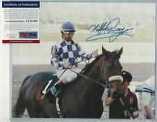 Laffit Pincay Jr Autographed 8x10 Photo Horse Racing Jockey HOFer PSA COA #2