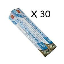 30 X SAC CONGELATION SPECIAL CHASSE GIBIER TRES GRAND MODELE 60 X 40 CM + LIEN