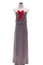 Georgia Bulldogs Black and Red Game Day Maxi Dress- Size Large