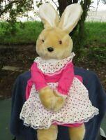 RARE Vintage 1986 Chadwick Bunny Rabbit Lovey Plush Stuffed Animal Doll