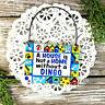 DECO Mini Sign DINGO DOG SIGN WE HAVE ALL BREEDS / MIXES JUST ASK Wood Ornament