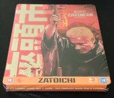 ZATOICHI Blu-Ray SteelBook THE BLIND SWORDSMAN UK Exclusive Region Free OOP Rare