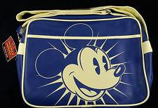 Messenger Cross body bag Disney MICKEY MOUSE Retro flight bag BlueNew