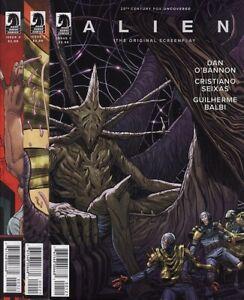 ALIEN: THE ORIGINAL SCREENPLAY #1,2,3,4 & 5 VARIANT COVERS SET DH Comics Aliens