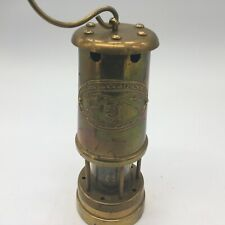 Brass English Miner's Paraffin Lantern Lamp.The Orvis Company Inc.Made in Wales