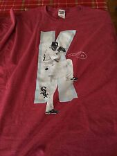 Chris Sale K Zone for Sale Tee shirt size XL and Card-New and Excellent Cond