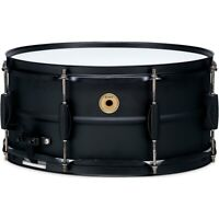 TAMA Metalworks Steel Snare Drum with Matte Black Shell Hardware 14 x 6.5 in.