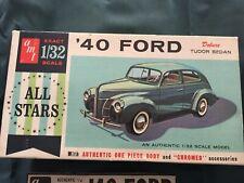 "AMT 7240 1940 ""FORD Tudor Sedan 1/32 kit modello"