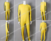 The Game of Death Cosplay Bruce Lee Costume Yellow Jumpsuit High Quality Sporty