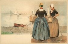 Holland Native Dutch People H. Cassiers c1900 Postcard WALCHEREN #2