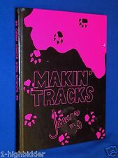 1989 1990 Orem Junior Jr High School Utah Yearbook '90 Jaguar Makin' Tracks Book