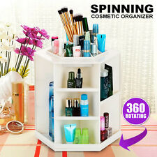 360 Degree Spin Cosmetic Makeup Organizer Box Storage Rack Case Stand Holder