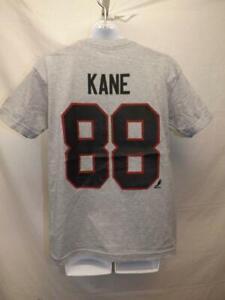 New-Minor Flaw Patrick Kane Chicago Blackhawks Reebok Youth M Medium 10/12 Shirt