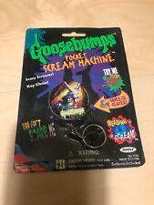 Vtg Goosebumps Pocket Scream Machine Key Chain 1996 New & Sealed Works! TV Movie