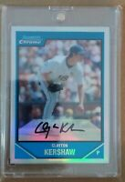 2007 Bowman Chrome REFRACTOR Clayton Kershaw XRC 🔥🔥🔥