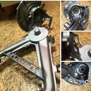 BMW E30 / E36 Compact Verstärkung Querlenker Arm Hinterachse reinforcement rear