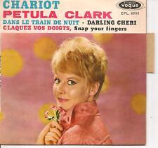 EP 4 TITRES--PETULA CLARK--CHARIOT / CLAQUEZ VOS DOIGTS