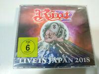 Riot Live in Japan 2018 - 2 x CD + DVD Region All Fat Box - Nuevo