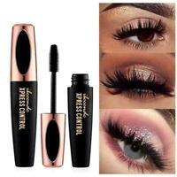 4D Silk Fiber Wimpern Mascara Langlebige Kosmetik Make Up P7S1 D8J2