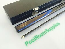 QUALITY CUETEC Pool Snooker Billiard REAL Graphite BLACK Cue and Case Gift