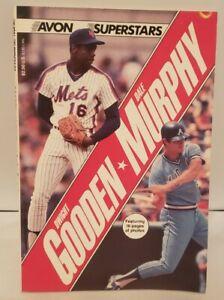 Avon Superstars Book 1986 Dwight Gooden & Dale Murphy Baseball