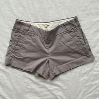 J. Crew Womens Shorts Gray Size 4