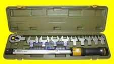 PROXXON 23342 Drehmomentschlüssel MC200-MULTI mit 10 Aufsteckwerkzeugen + Koffer