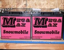 SNOWMOBILE EXTREME ENERGY MEGAMAX AGM BATTERY 450 CCA !