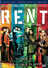 Rent (DVD, 2006, 2-Disc Set, Special Edition, Full Screen) SEALED