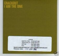 (C722) Crackout, I Am The One - DJ CD