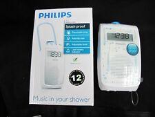 Philips AE2330 Splash-Proof Bathroom AM/FM Radio