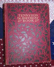 The Tennyson birthday book Ward, Lock & Co