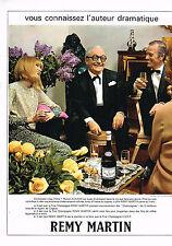 PUBLICITE 1968   REMY MARTIN  cognac MARCEL ACHARD