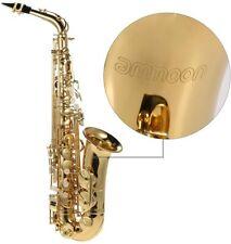 Saxophone ammoon bE Alt 1 Blech lackiert Gold Musikinstrument 802 Tasten Musik