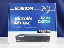 Edision PICCOLLO S2+T2/C Combo Receiver H.265/HEVC DVB-S2 DVB-T2