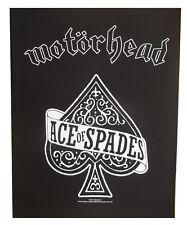 Motorhead Ace of Spades dossard patche dorsal officiel licence patch grand