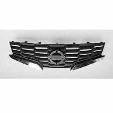 Front Grille Chrome/Black Fits 2008 2009 Nissan Altima 2 Door Coupe NI1200225