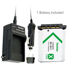 Kastar 1 Battery & Normal Charger kit for Sony NP-BX1 X-SERIES NPBX1/M8