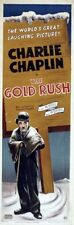 Charlie Chaplin in The Gold Rush (1925) Comedy Vintage Repro 12x18 Movie Poster