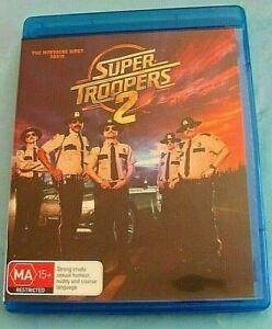 SUPER TROOPERS 2 BLU-RAY