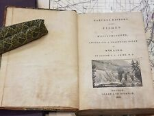 Natural History of the Fishes of Massachusetts 1833 1st US Book on Angling Fair