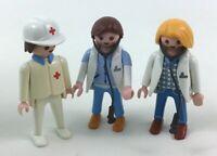 Playmobil,LADY VET,VETERINARIAN with DEER,Series #13 Figure,New