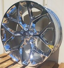 "22"" Chevy Suburban Avalanche Wheels Silverado Tahoe 1500 2014 2015 2016 2017 NEW"