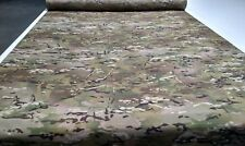 """Multicam Camouflage Canvas Duck Outdoor Nylon Fabric 60""""Wide Military Closeout"""