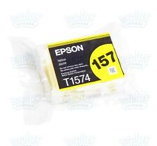 Genuine Epson 157 Yellow Ultrachrome K3 Ink T157 T1574 T157320 R3000
