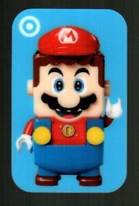 TARGET Lego Super Mario 2020 Lenticular Gift Card ( $0 ) [ 0620 4549 ]
