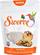 SWERVE SWEETENER Granular - Sugar Substitute 12oz 340g - FREE 1st Class P&P