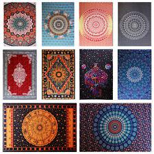 Large Indian Mandala Tapestry Bohemian Wall Hanging Blanket Ethnic Throw Decor